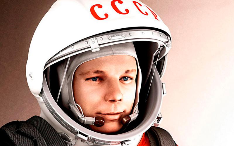 El primer cosmonauta en orbitar la tierra: Yuri Gagarin.
