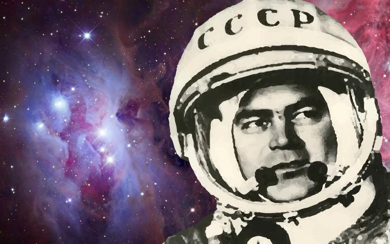 Adrian Nikolayev, tercer cosmonauta soviético de la historia.