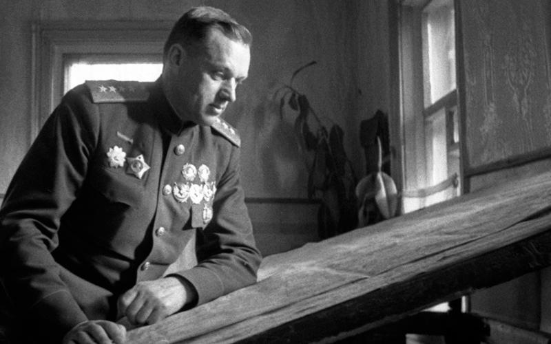 General soviético Konstantin Rokossovsky