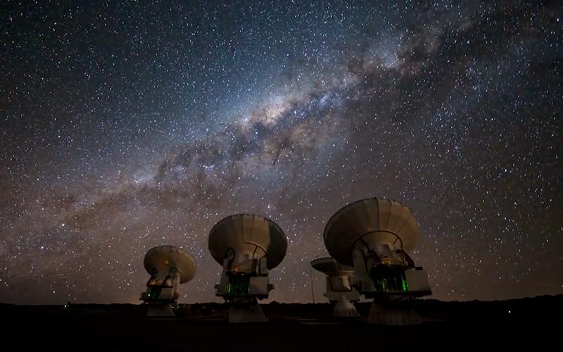 Impresionantes estrellas.
